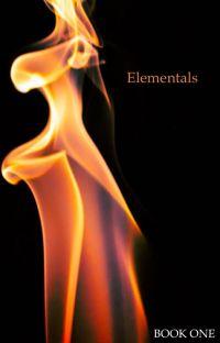 Elementals (#Wattys2017) cover