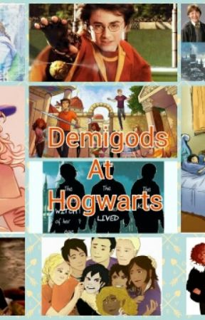 Demigods at Hogwarts ❤(Completed) by B00kl0ver22_