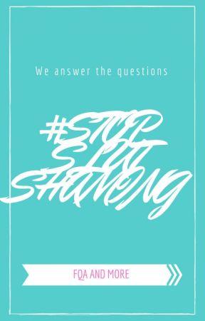 What is #StopSlutShaming? by StopSlutShaming