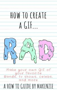 How to create a GIF! cover