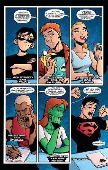 Young Justice Chatroom