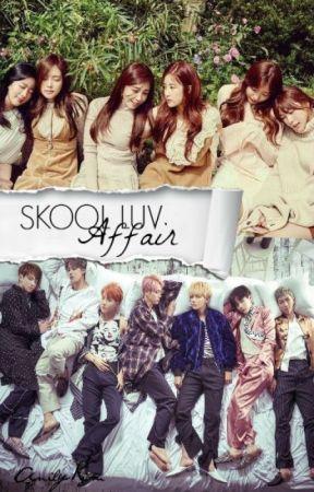 Skool Luv Affair (BangtanPink) by anilynaquino