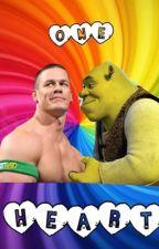 One Heart (A Shrek and John Cena fan fiction) by toastygaskarth