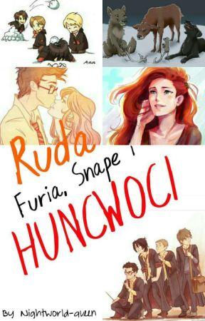 Ruda Furia, Snape I Huncwoci | Zawieszone by Nightworld-queen