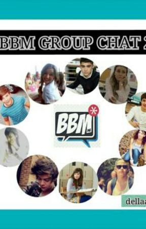BBM GROUP CHAT 2 (Back To School) by dellaalc