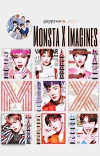 MONSTA X IMAGINES ; done. cover