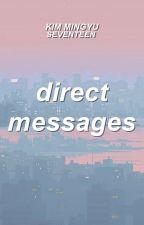 direct messages | kim mingyu by akinonymouss