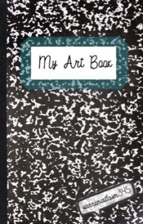 My Art Book by warriorcatlover345