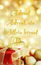 Advent Advent, ein Lichtlein brennt by Leo2016a