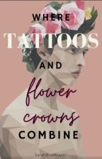 Where the Tattoos and Flowercrowns Combine BoyxBoy by SarahBooWuvsU