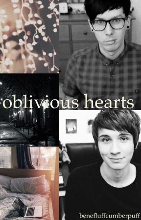 Oblivious Hearts (Phan) by benefluffcumberpuff