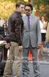 The Avengers Steve Rogers/OC/Tony Stark cover