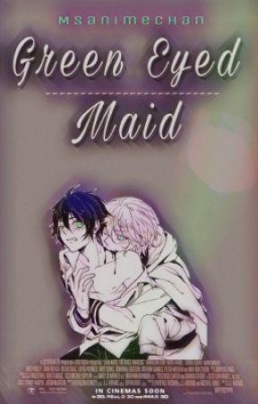 Green Eyed Maid (Mikayuu) by msanimechan