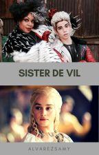 Sister De Vil (Editing)~ DISNEY DESCENDANTS by alvarezsamy