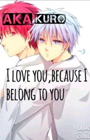 I love you,because I belong to you. (Akakuro Random story)  by chi-chanTHEweirdgirl
