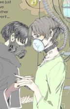 Hσʂριƚαʅ Gԋσυʅ (Tokyo Ghoul Crossover) by _BlueGoo_