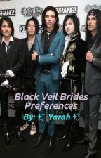 Black Veil Brides Preferences [DISCONTINUED] by hanzosmeatball