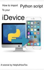 Import Python script to your iDevice by HelpfulHowTos