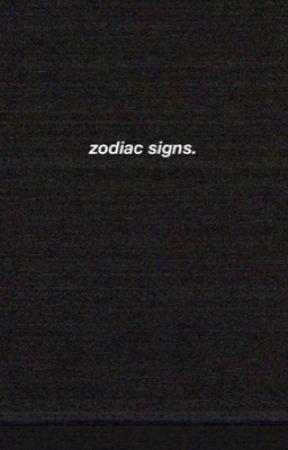 zodiac signs  by EyesCIosed