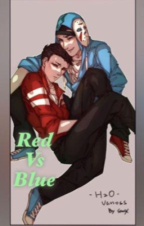 Red vs Blue H2oVanoss by HeavenlyDemons