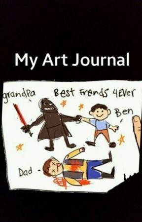 My Art Journal by WhatRPotatos