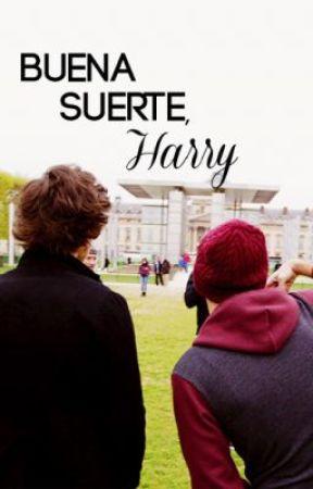 Buena suerte, Harry. (Larry Stylinson) by dongaysta