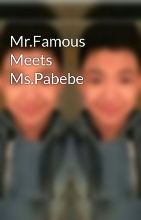 Mr.Famous Meets Ms.Pabebe by halizaku
