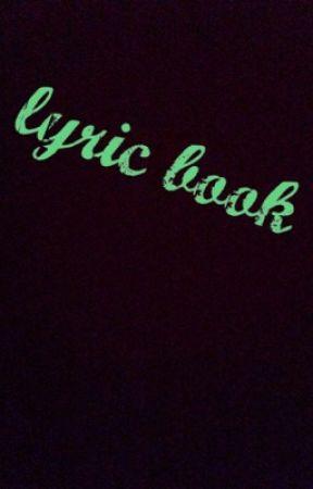 Lyric book by 6ixfandoms