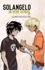 Solangelo in High School by calmbefourthestorm