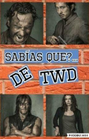 ¿Sabias Que...The Walking Dead? by Tabyriggs