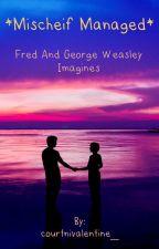 Mischief Managed (Fred/George Weasley X Reader) Imagines by courtnivalentine_