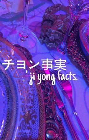 『事実』; jiyong facts. by baeilys