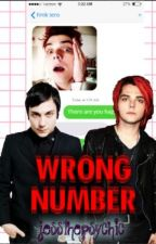 Wrong Number (Frerard) by jessthepsychic