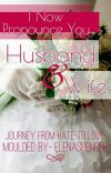 I now pronounce you husband and wife cover