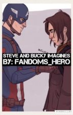 Steve and Bucky Imagines by Fandoms_Hero