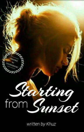 Starting from Sunset by Khuz88_