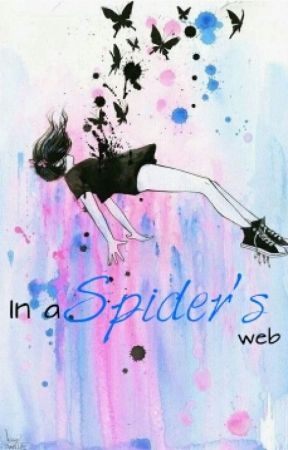 In a spider's web by Adorabludthirsty