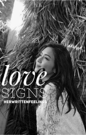 love signs (kathniel) by herwrittenfeelings
