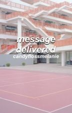 message delivered {frerard} by candyflossmelanie