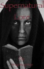 Supernatural lore by tinyemopixie