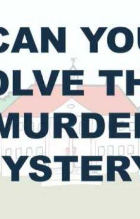 Murder Riddles. by emilyisabigkitty