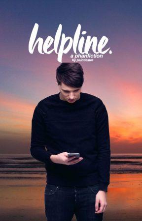 Helpline ➸ Phan [texting] by paintlester