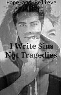I Write Sins Not Tragedies (newtmas au) cover