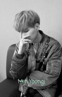 I remember || Min Yoongi || cover