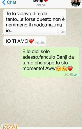Whatsapp-Benji & Fede - 2°capitolo - Wattpad