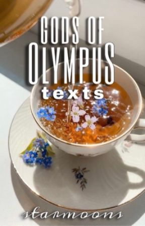 Gods of Olympus Texts by starmoons