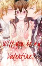 Will you be my Valentine? ♥︎ Love Sandwich between Elias and Klaus by RoseNiji