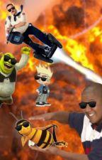 Bee Shrek Test in the House by WarmSnailMilk