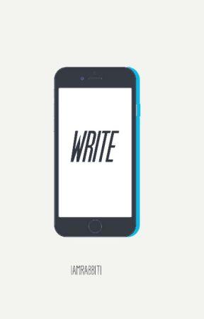Write // Mashton by Iamarabbit1