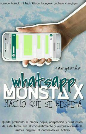 Whatsapp Monsta x [Editando] by ramyeonho